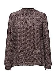 Ea ls print blouse - SMALL FLOWER PRINT
