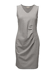 Hoffa dress - LIGHT GREY MELANGE