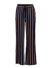 Ebba pants - BROWN STRIPED