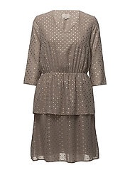 Ulrikka dress - FOIL DOT PRINT