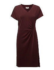 Dyveke dress - SASSAFRAS BORDEAUX