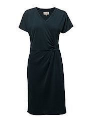 Dyveke dress - STARGAZER GREEN