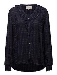 Danny shirt - BLACK IRIS