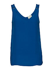 Beth top - STRONG BLUE