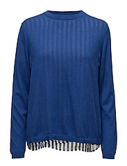 Becka knit pullover - STRONG BLUE