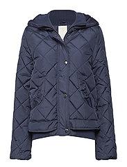 Alvida jacket - BLACK IRIS