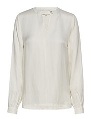 Everly blouse - CLOUD DANCER