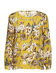 Diviel blouse - CURRY FLOWER PRINT