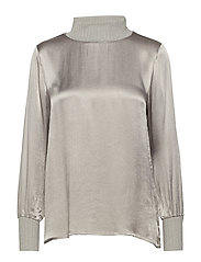 Dixie blouse - SILVER GREY