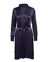 Dixie dress - BLACK IRIS