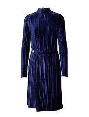 Dafnia dress - BLACK IRIS