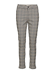 Carma checked pants 7/8 - CHEQUERED