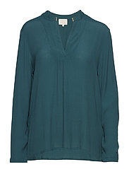 Lilja LS blouse - FIR GREEN