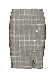 Carma checked skirt - CHEQUERED