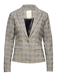 Carma checked blazer - CHEQUERED