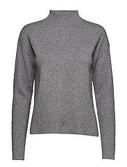 Inez knit pullover - GREY MELANGE