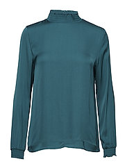 Herta blouse - FIR GREEN