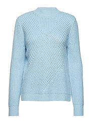 Claire knit pullover - ICY BLUE