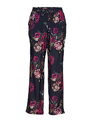 Evalina pants - MIDNIGHT FLOWER PRINT