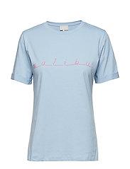 Malibu tee - ICY BLUE