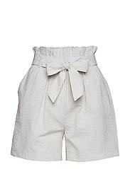 Alba shorts - NOMAD SAND STRIPED