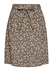 Adaline skirt - STRIPED DOT