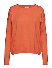 Elne knit - PUMPKIN ORANGE