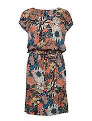 Freya dress - PUMPKIN PRINT