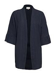 July kimono - BLACK IRIS