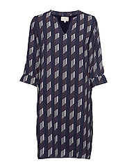 Marche dress - FIGURE PRINT