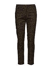 Carma leo pants 7/8 - LEOPARD PRINT