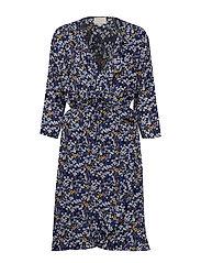 Aviva wrap dress - MEADOW PRINT