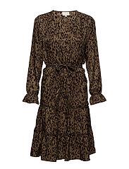 Ava leo dress - LEOPARD PRINT