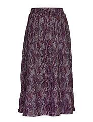 Carol skirt - PURPLE AGAT