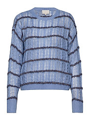 Inas knit pullover - STILLWATER