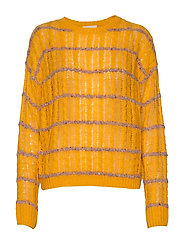 Inas knit pullover - SUNFLOWER