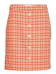Nanja skirt - CHILI CHECKED