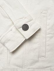 Minus - Gigi jacket - jeansjakker - cloud dancer - 4