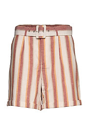Mickie shorts - MINERAL RED STRIPES