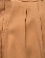 Minus - Emissa pants culotte - bukser med brede ben - almond - 2
