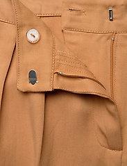 Minus - Emissa pants culotte - bukser med brede ben - almond - 3