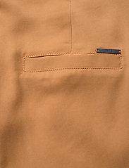 Minus - Emissa pants culotte - bukser med brede ben - almond - 4