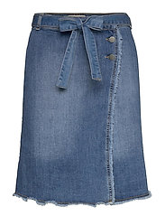 Sherine denim skirt - DENIM