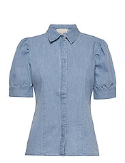 Nikia shirt - POWDER BLUE