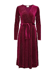 Lizzie dress Boozt - BORDEAUX