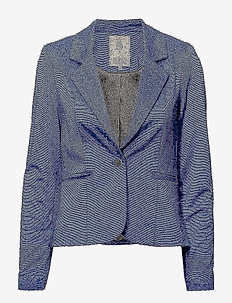 Carmen blazer - STRONG BLUE