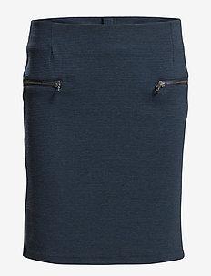 Louis skirt - korte nederdele - black iris