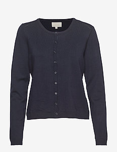 New Laura cardigan - cardigans - black iris solid