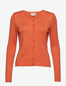 New Laura cardigan - PUMPKIN ORANGE