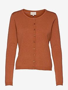 New Laura cardigan - cardigans - red rust